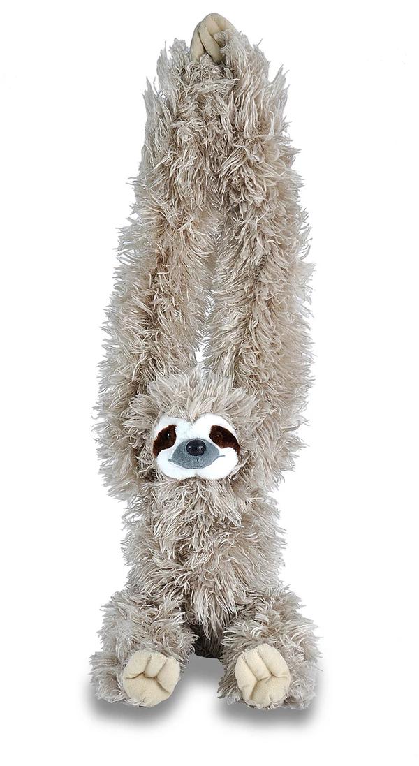 "Hanging Sloth Stuffed Animal 20"" Sloth stuffed animal"