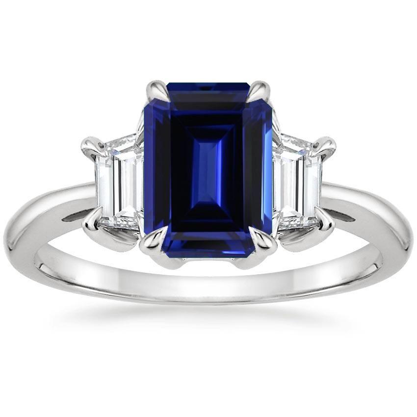 Platinum Embrace Diamond Ring Sapphire Engagement Ring Blue Pear Shaped Diamond Engagement Rings Engagement Rings Sapphire