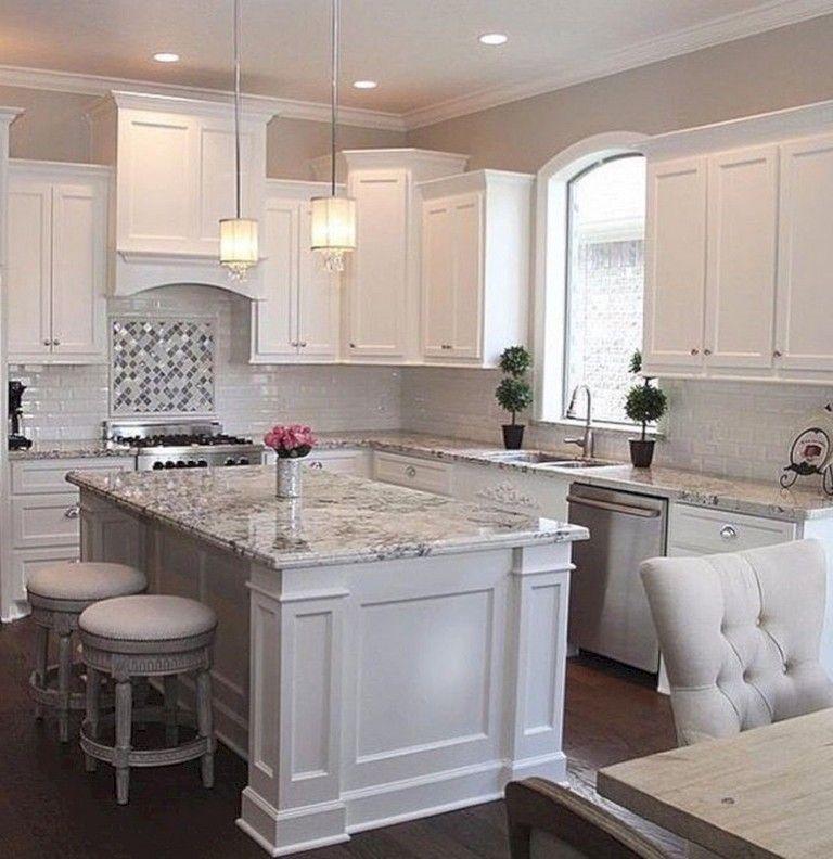 37 Cool Grey White Kitchens Design Ideas Luxury Kitchens Kitchen Design Countertops Beautiful Kitchen Countertops