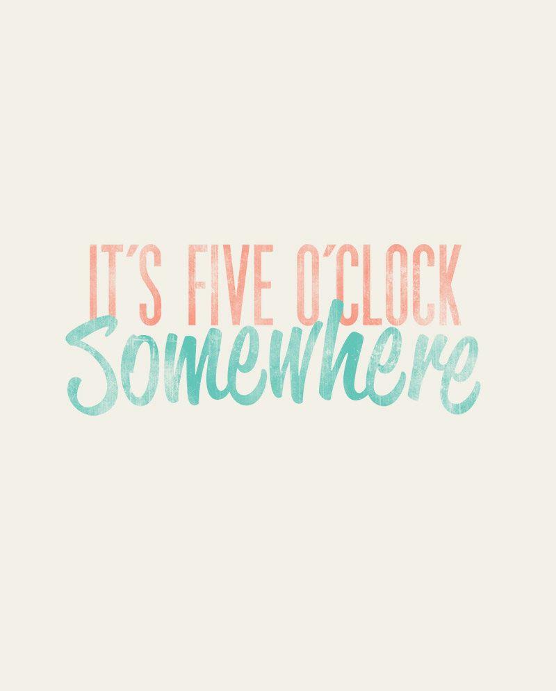 It S Five O Clock Somewhere Alan Jackson Jimmy Buffett
