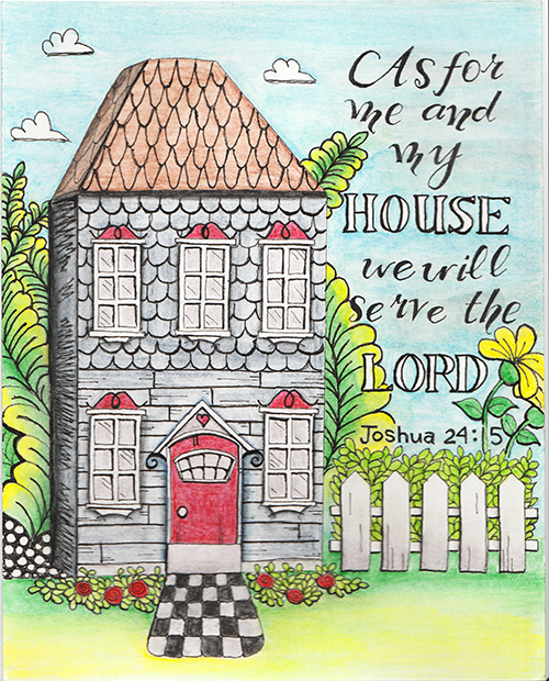 joshua 24 coloring pages - photo#26