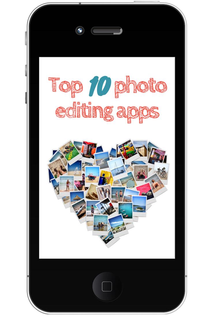 Top 10 photo editing apps Iphone photo editor app, Photo