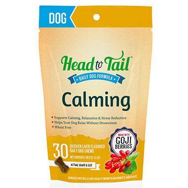 Head To Tail Small Calming Dog Treats 30ct Petsupermarket Cat Nutrition Nutrition Recipes Healthy Pets
