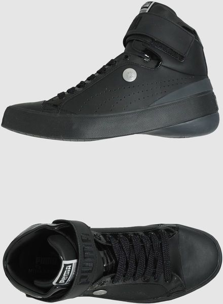 online retailer 3960b 25b12 Puma X Miharayasuhiro Hightop Sneaker in Black for Men (red) - Lyst