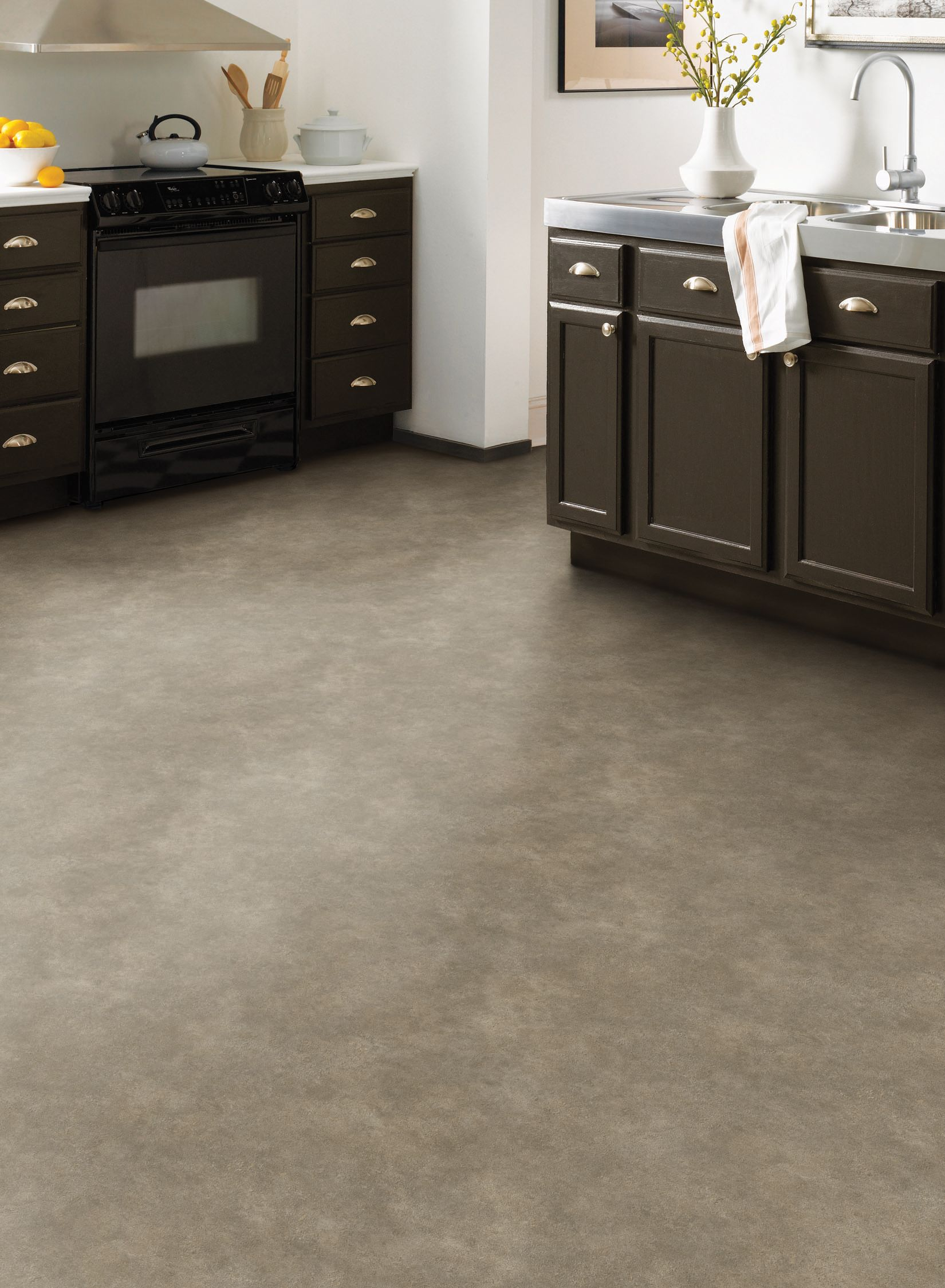 Great Floors That Remain Timeless With Any Decor Grey Concrete Sheet Vinyl Vinyl Flooring Kitchen Vinyl Flooring Flooring
