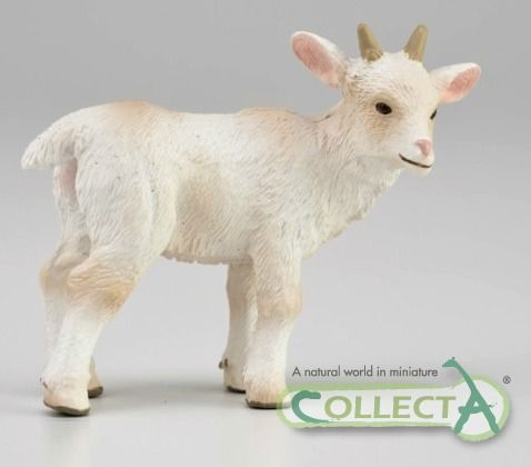 Collecta 88787 Goat Kid Walking Miniature Animal Figure Toy