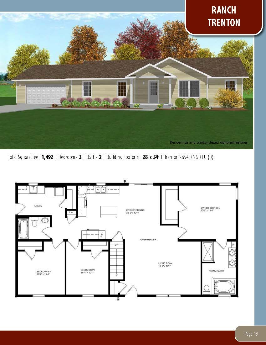 To Learn About Building Your New Home With All American Homes Visit Our Website At Www Allamericanhomes Com House Blueprints New House Plans Small House Plans