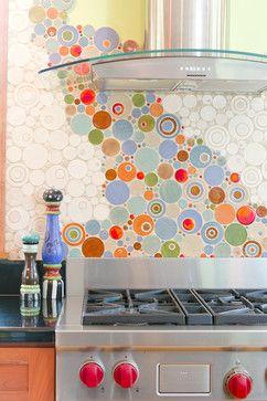 Gleuckstein Kitchen - eclectic - kitchen - minneapolis - Mercury Mosaics and Tile