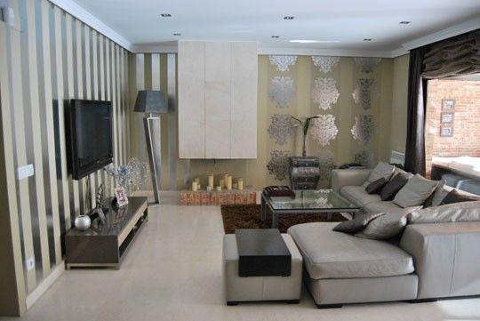 chaise longue con muebles wengue - Buscar con Google | salón ...