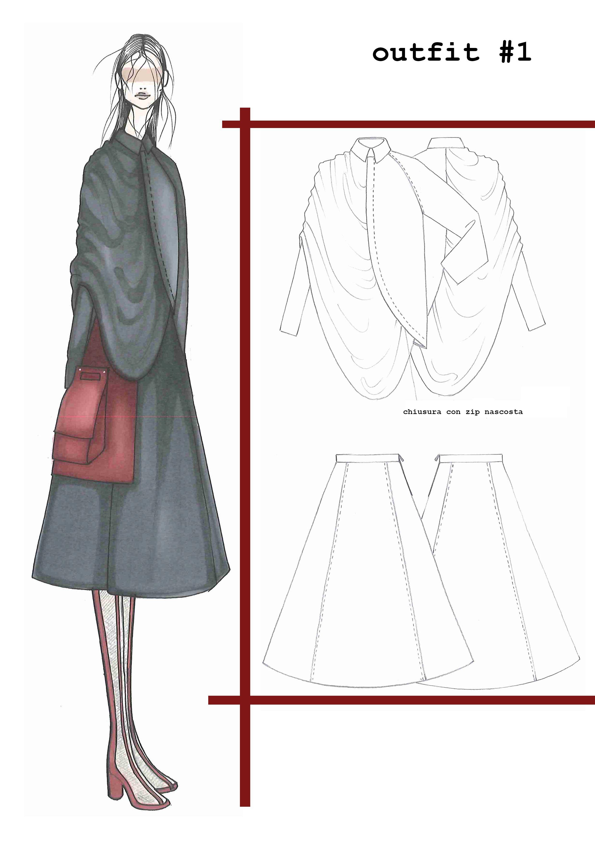 magda fashion sketchbook and drawing fashion