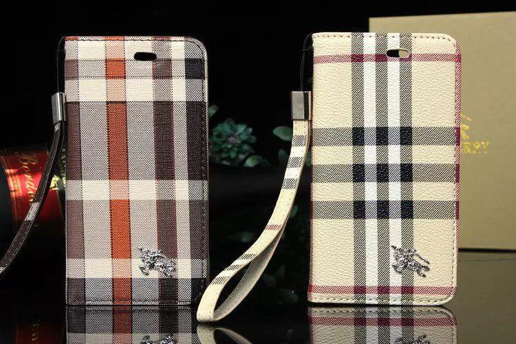 0b4d3163f2 BURBERRY(バーバリー) iPhone ケース アイフォン カバー 手帳型 スマホケース・カバー レザー 革製、大人可愛い、Burberry チェック好きな方❤ぜひ