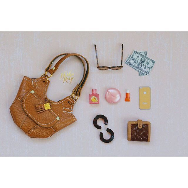 Mini Bags Scale 1/6♡ ♡ By Nesha Kaye