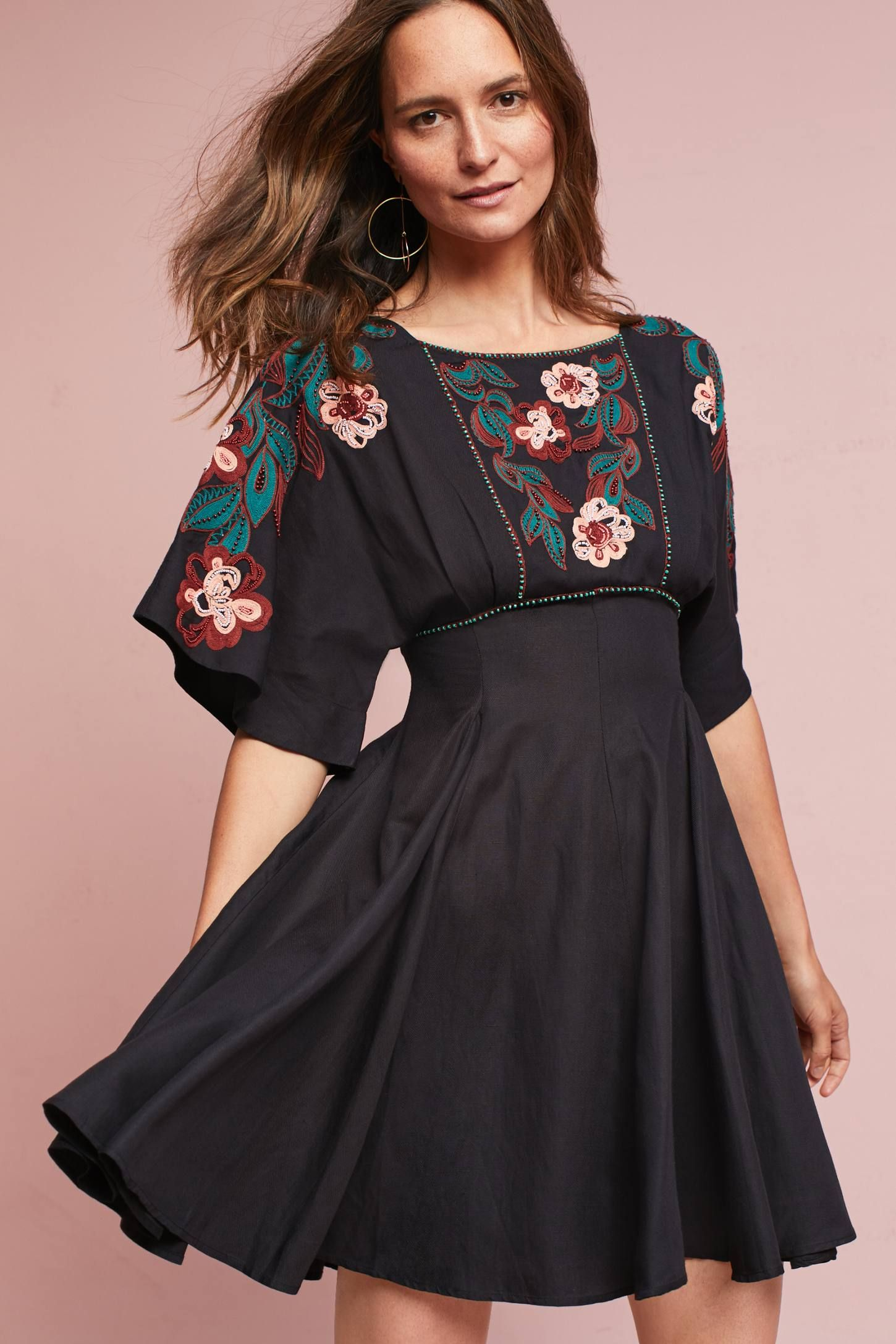 6ac795fa524 Shop the Priscilla Embroidered Dress and more Anthropologie at  Anthropologie today. Read customer reviews