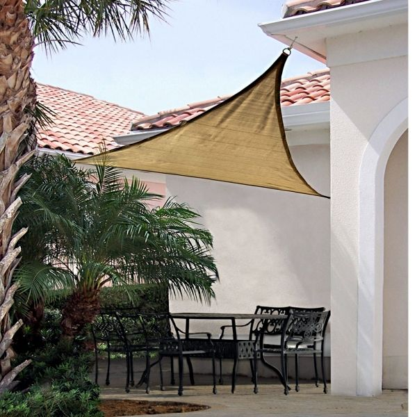Triangular Canopy For The Patio
