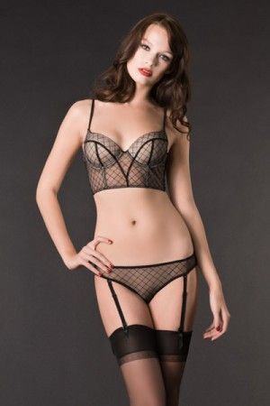 Lingerie Sexy Bustier Push up - Villa Cancan - Maison Close