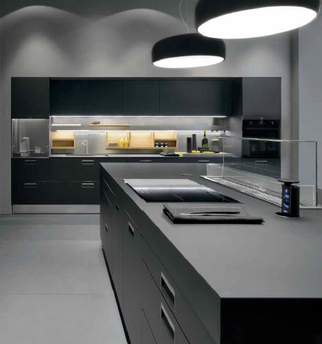 High End Kitchen Design Ideas: Kitchen、Black Kitchens 和 Kitchen Design