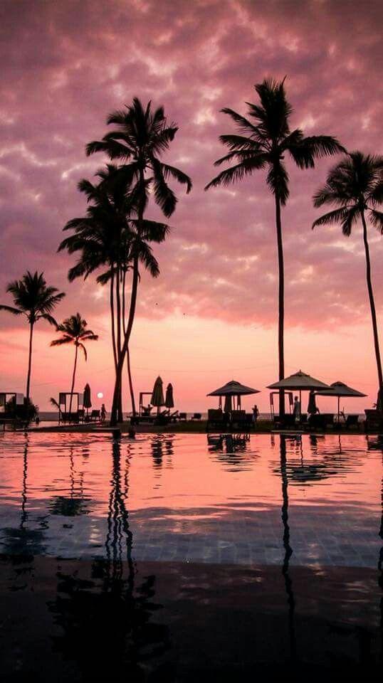 Fiji Sigh Sunset Iphone Wallpaper Summer Phone Landscape