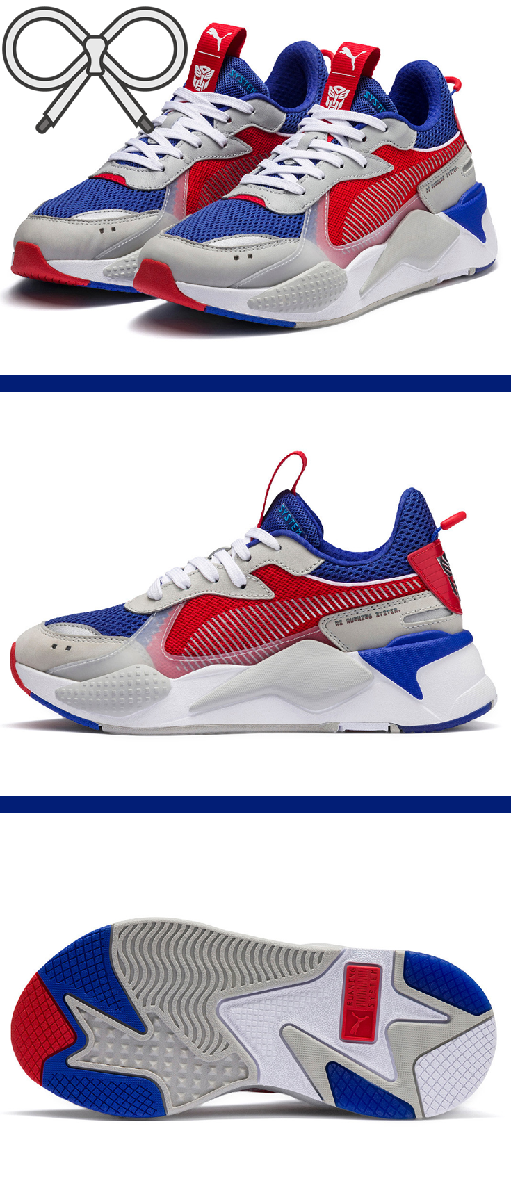 super popular f3582 a2faf Part of the Puma x Transformers collaboration hitting shelves in  NovemberDecember.