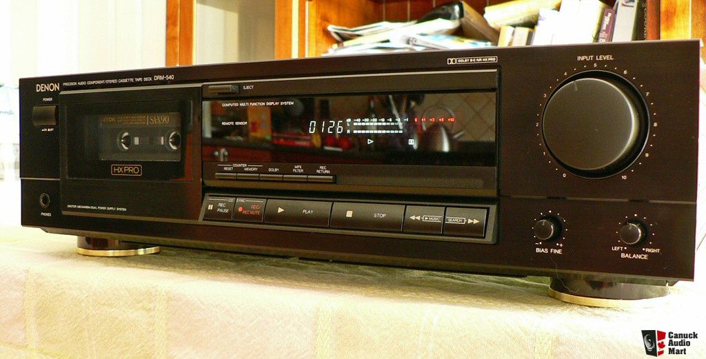 Denon DRM 540 was a good recorder  I think the only one I