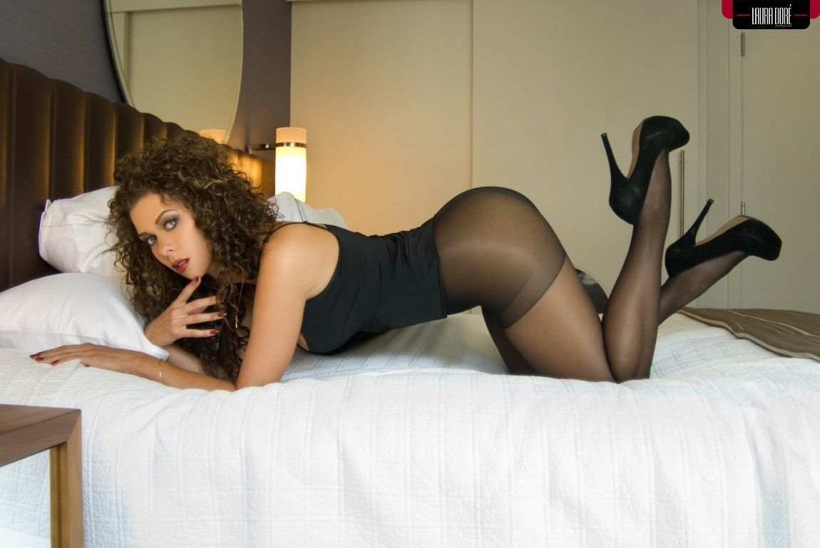 Jeny smith pantyhose and high heels fetish 1