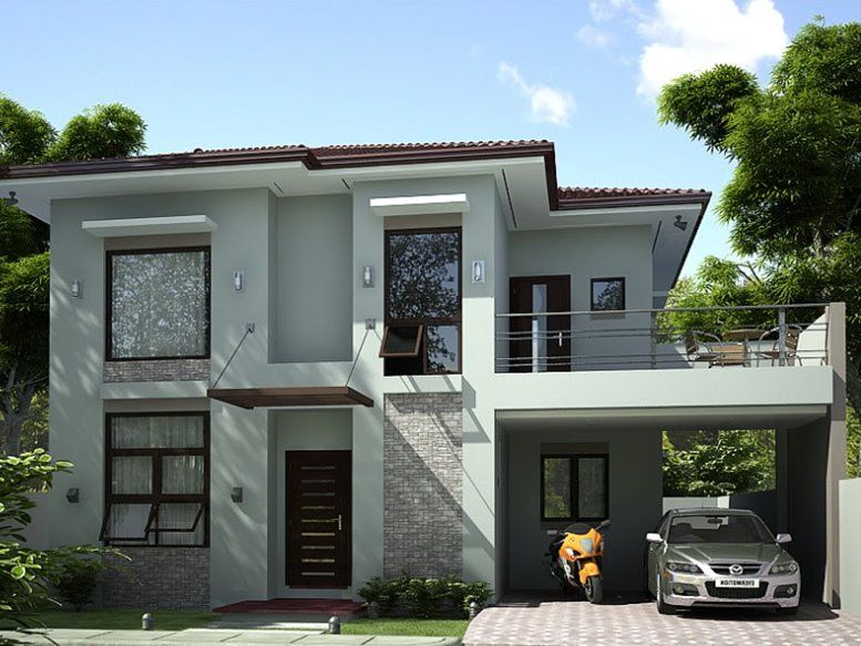 Simple Modern House Design Lanzhome Com In 2020 Simple House Design Classic House Design Modern House Plans