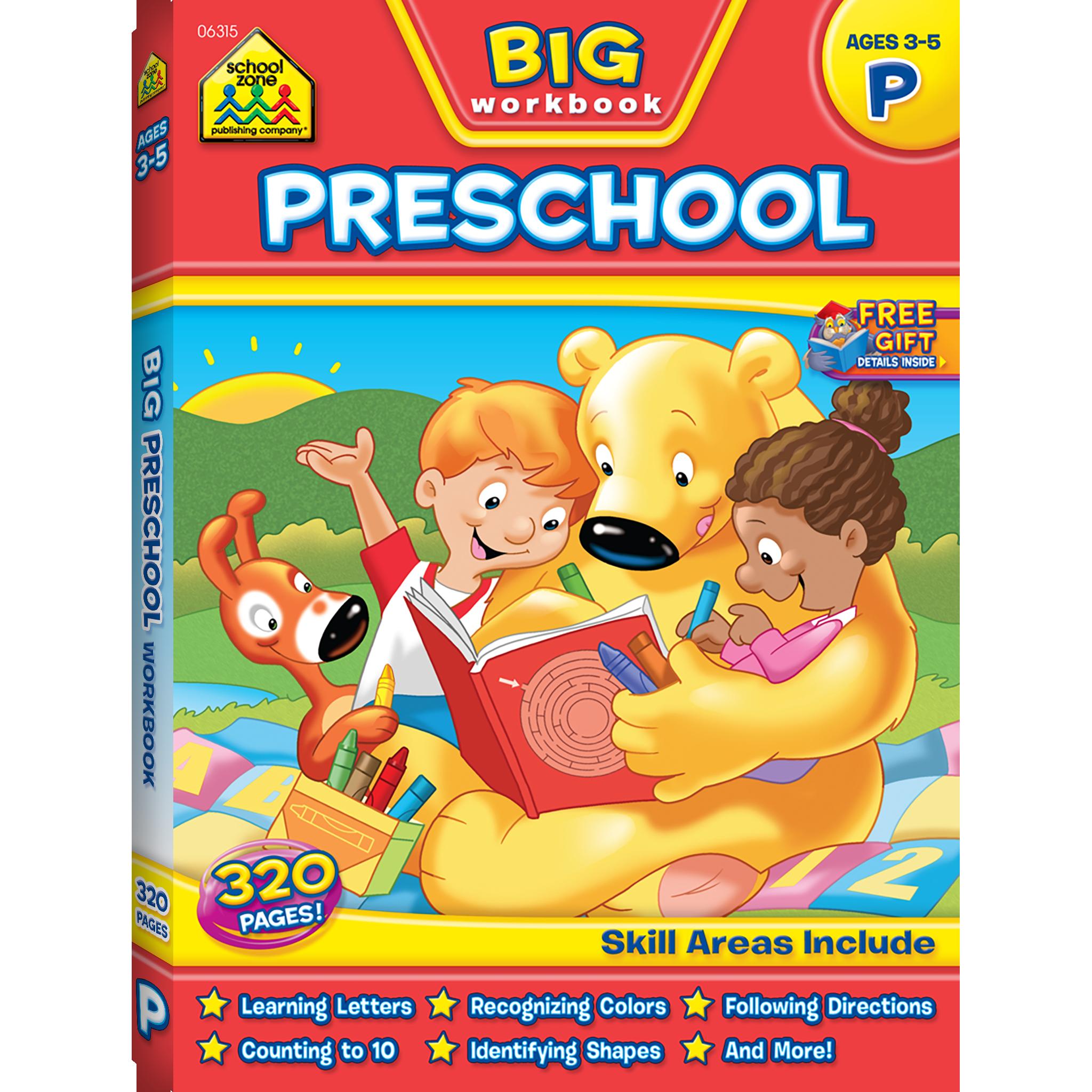 Big Preschool Workbook | Preschool workbooks