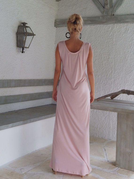 Kleid rosa maxi
