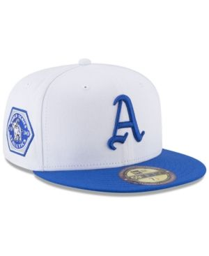 buy online 7411e 33da8 New Era Philadelphia Athletics Ultimate Patch Collection World Series 2.0 59Fifty  Fitted Cap - White 7