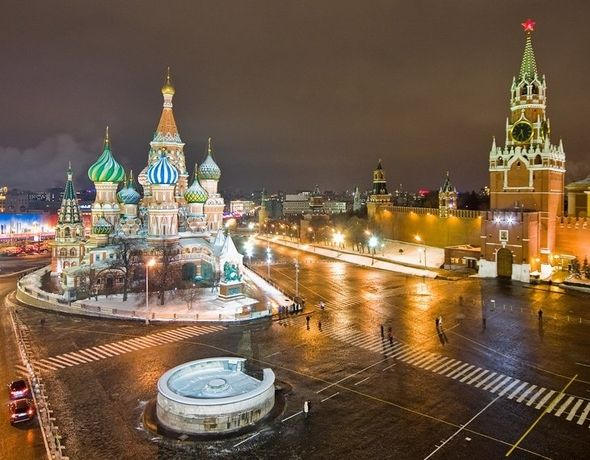 Famous Tourist Attractions In Russia