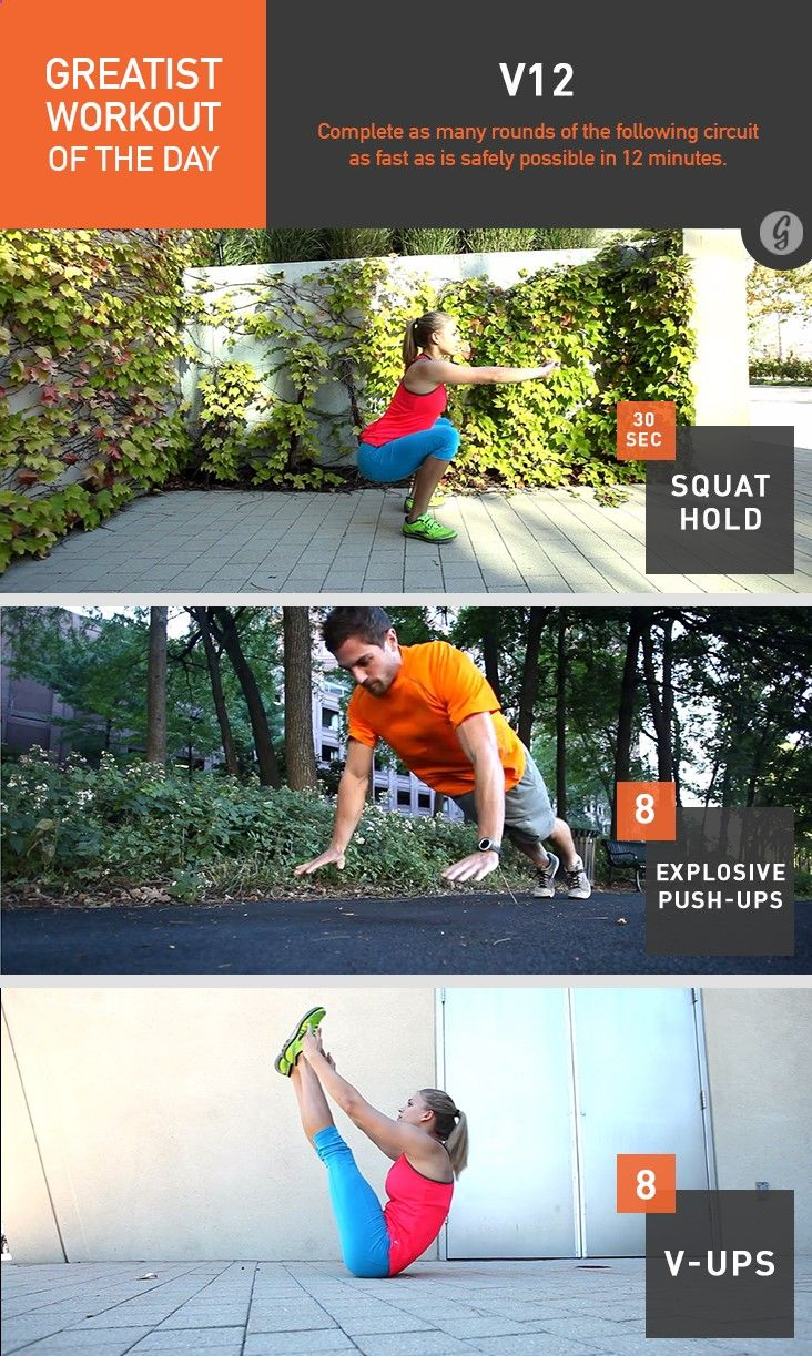 Greatist Workout of the Day: Monday, August 4th recommend