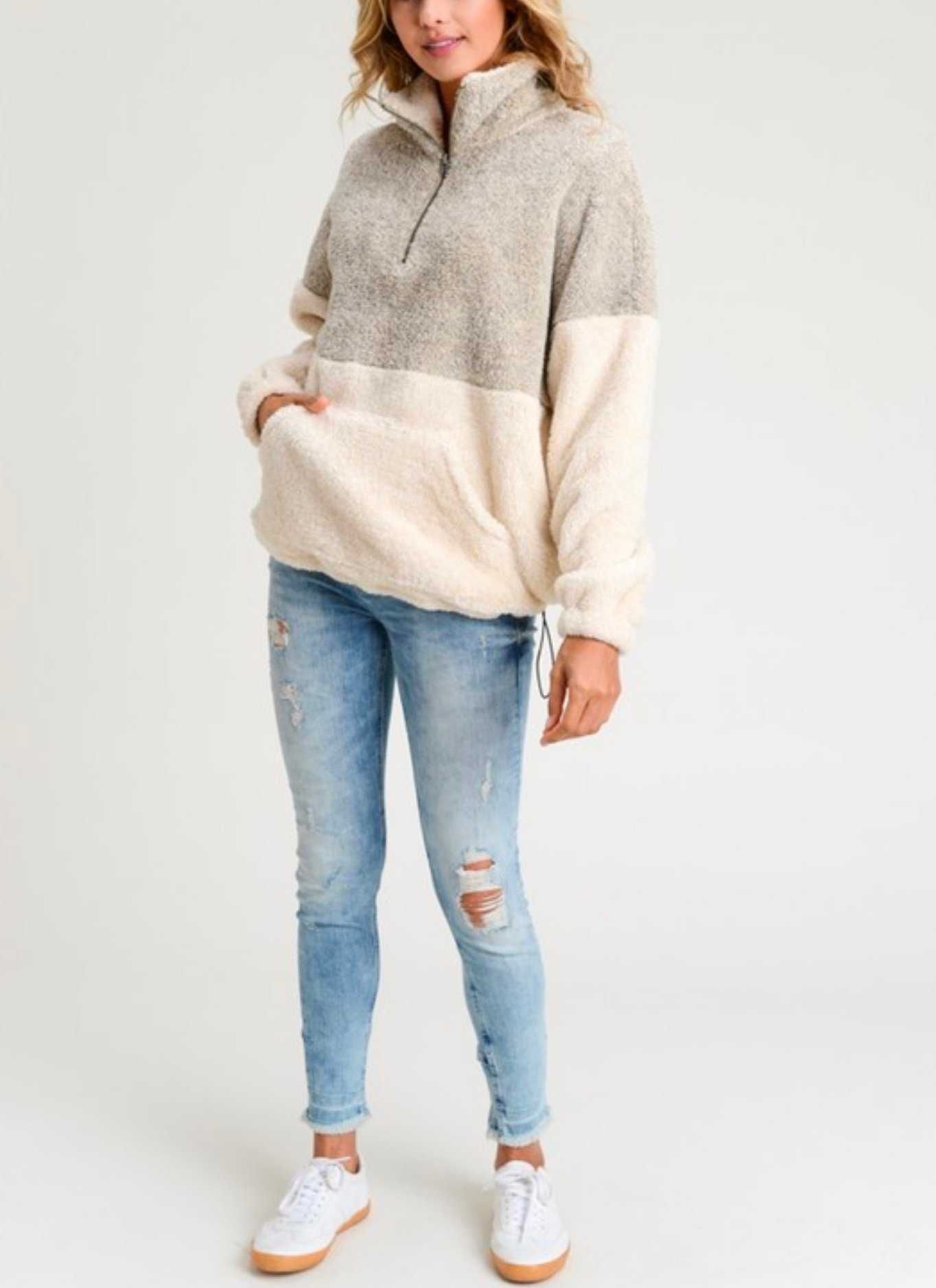 Get womens woll pullover sherpa fleece pullovers by Cost less than  18 only  with 10% OFF Xmas Holiday Deals Promo code  sunifty. cheap sherpa quarter  zip ... e6c70a6f5