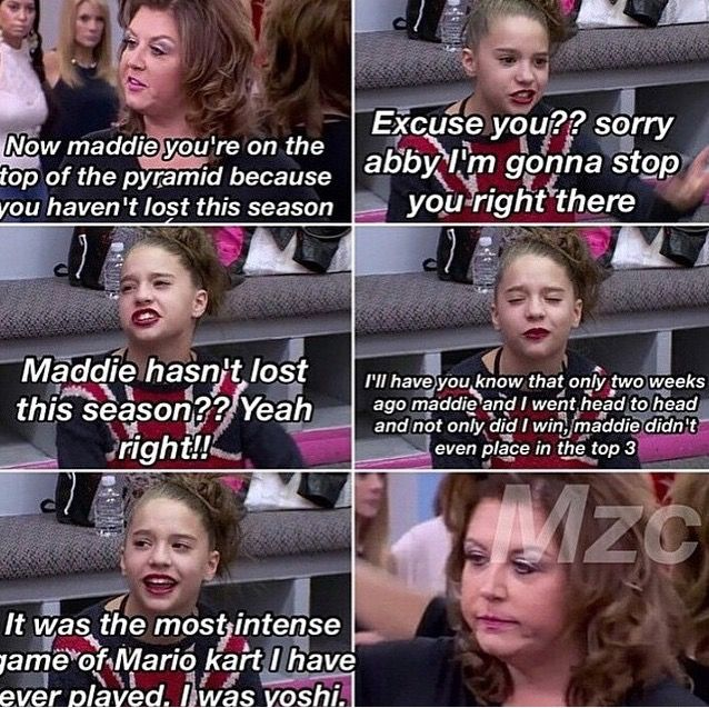 Pin By On Dance Moms Dance Moms Funny Dance Moms Facts Dance Moms Moments