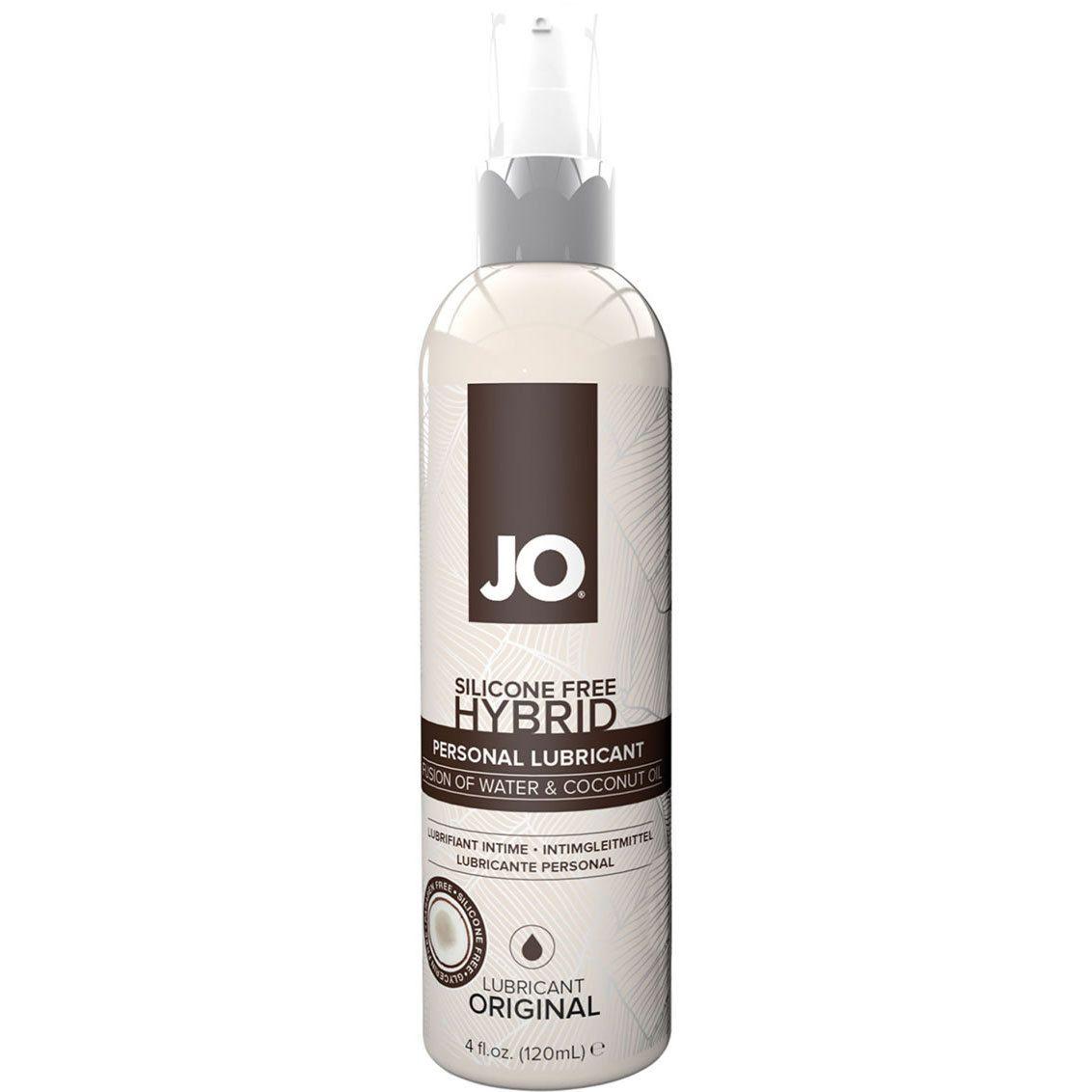 System Jo Silicone Free Hybrid Original Coconut Lubricant 4 Oz