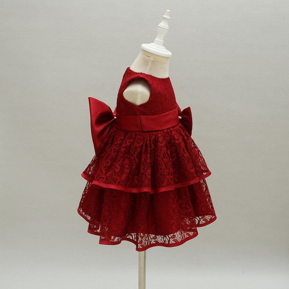 Moon Kittty Baby Lace Special Occation Dresses Christening Baptism Gowns Formal Dress Red Wine 18m You Coul Baby Girl Dress White Newborn Gown Newborn Gown