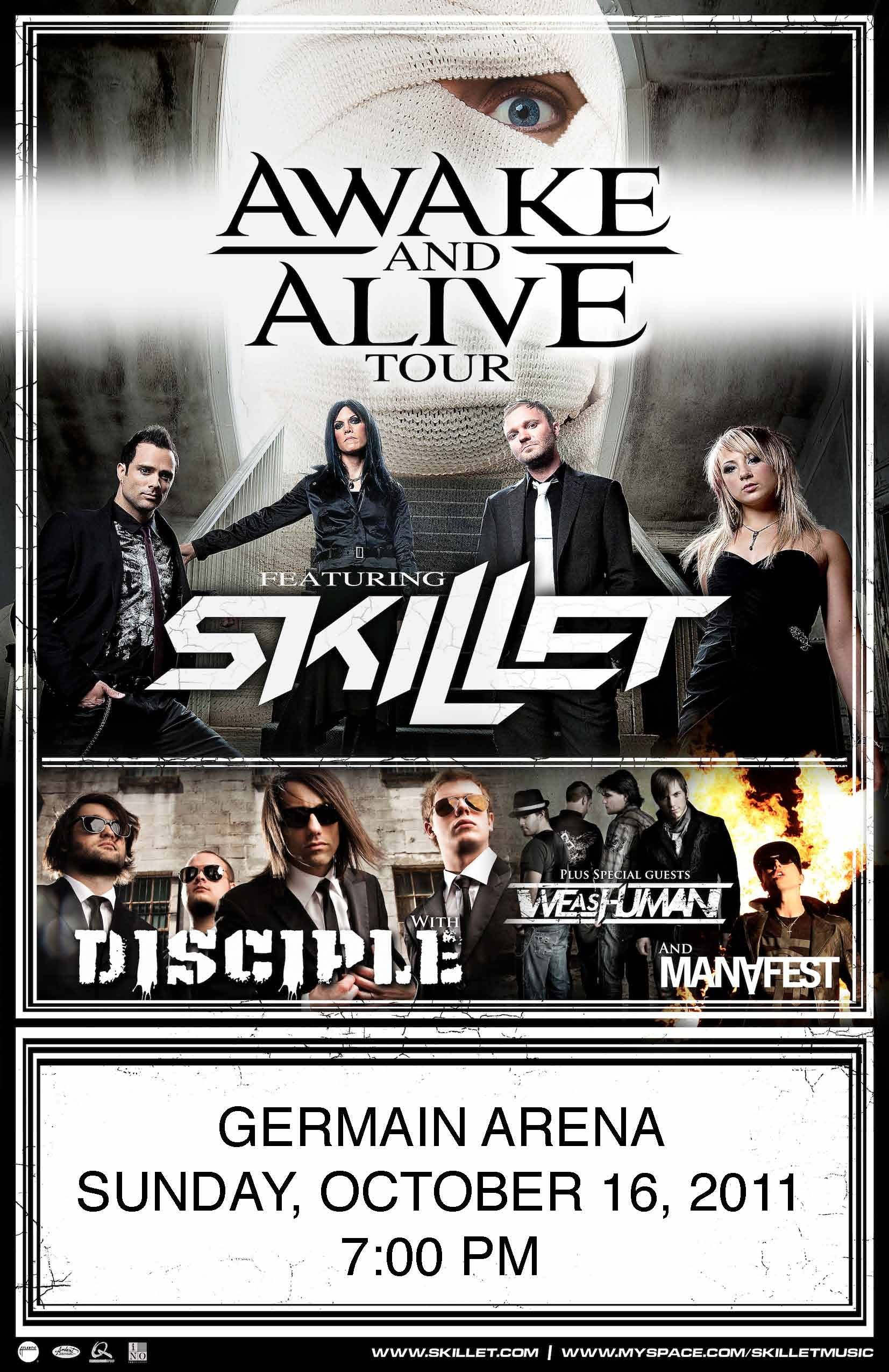 Skillet 2011 | Posters in 2019 | Christian music videos, Christian