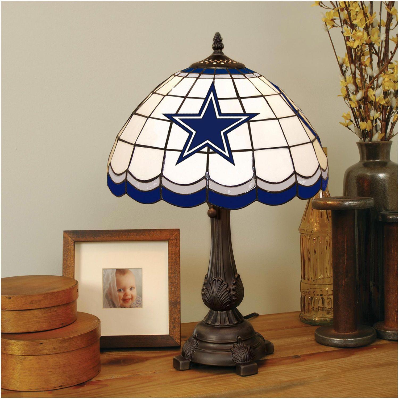 Dallas Cowboys Tiffany Table Lamp Tiffany Style Table Lamps Tiffany Table Lamps Table Top Lamps