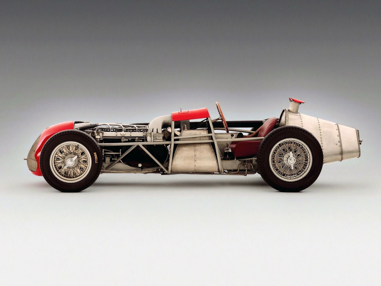 naked 1951 Alfa Romeo Tipo 159 Alfetta