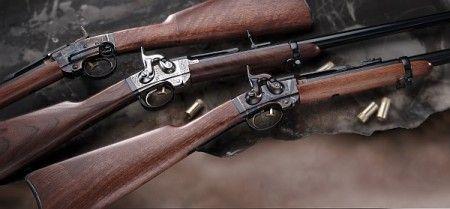 SMITH CARBINE Cavalry Jednoranná perkusní zadovka   | Zbraně