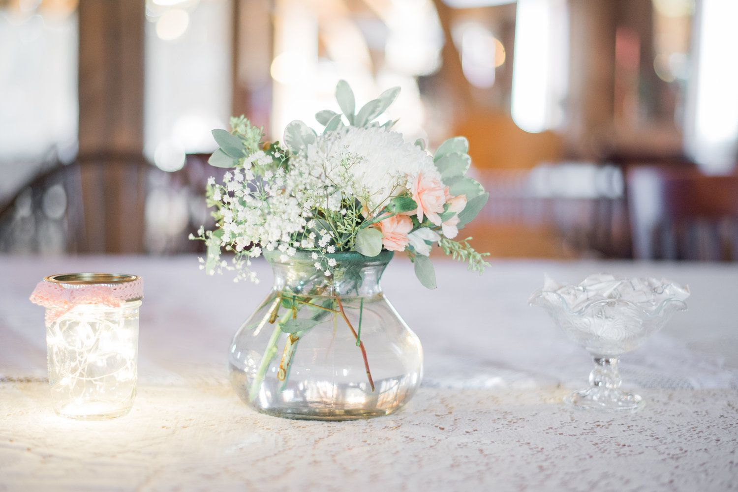 Murdock Wedding | Barn wedding centerpieces, Barn weddings and ...