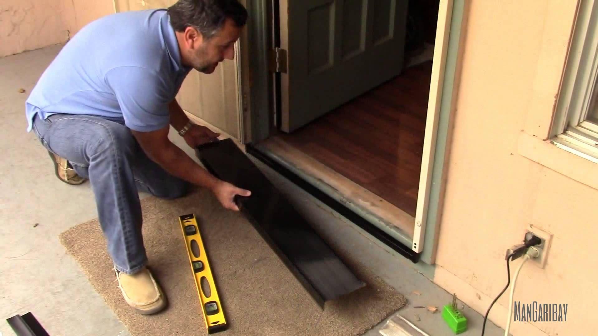 Under Secutity Screen Door Gap Seal Kit Installation Video 30520832