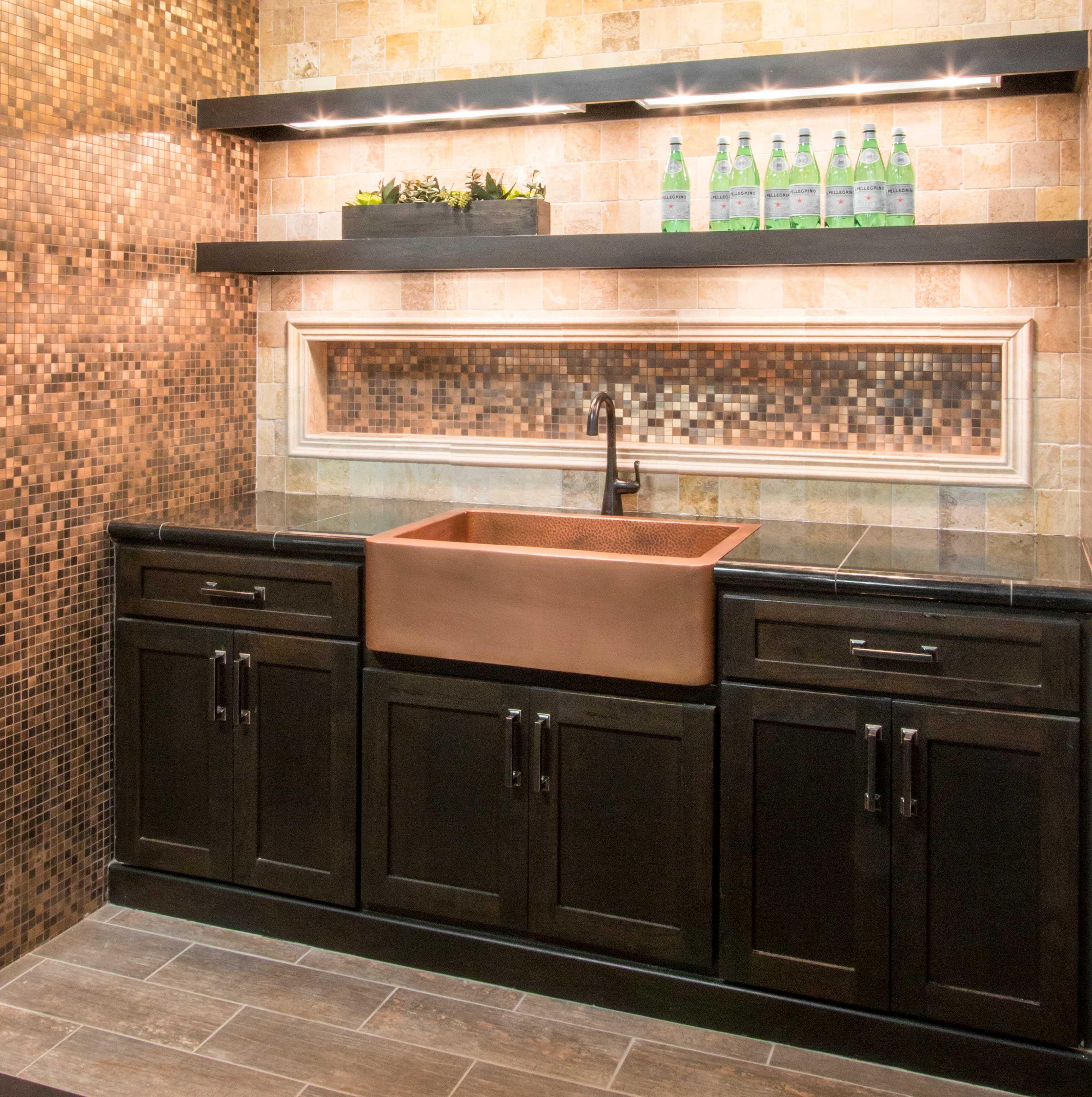 Natural metallic tone bar backsplash tile brushed copper rounds natural metallic tone bar backsplash tile brushed copper rounds metal mosaic tile https dailygadgetfo Choice Image