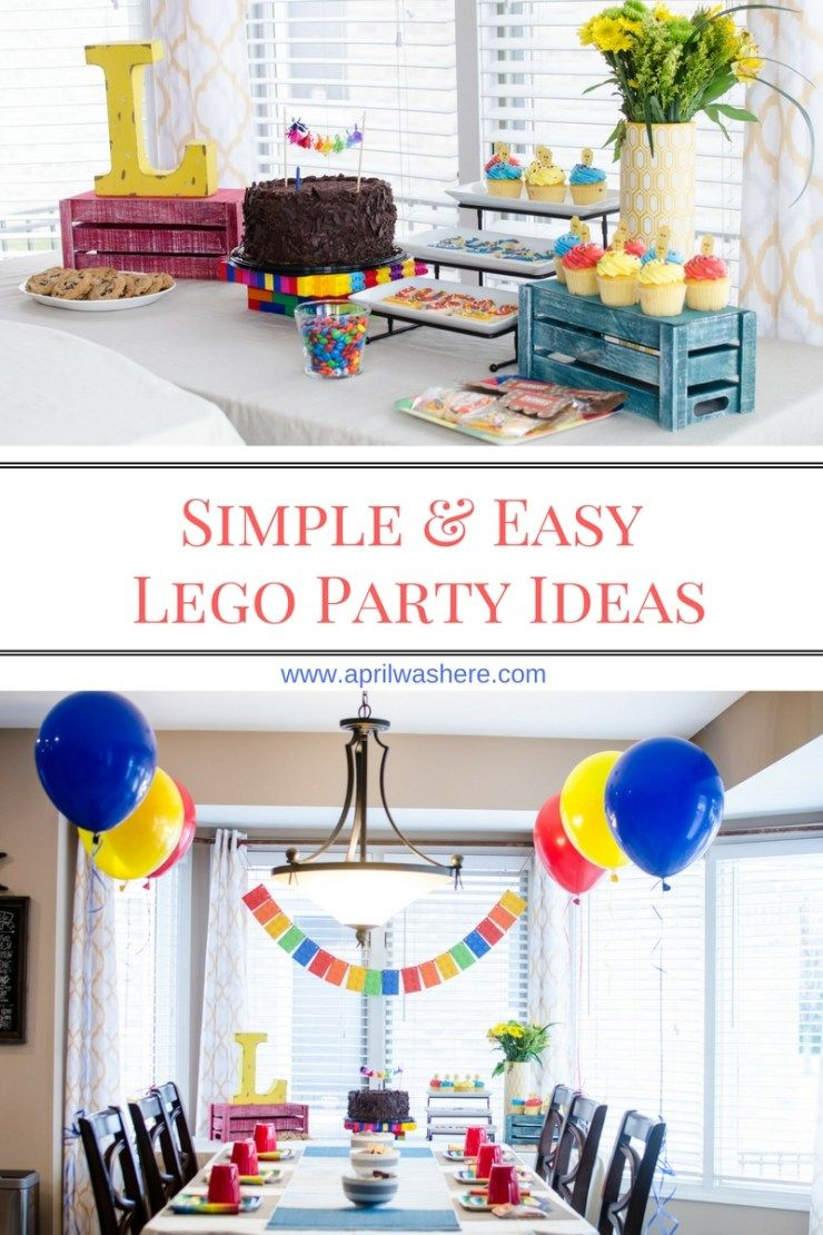 April Was Here - Simple and Easy Lego Party Ideas - April Was Here ...