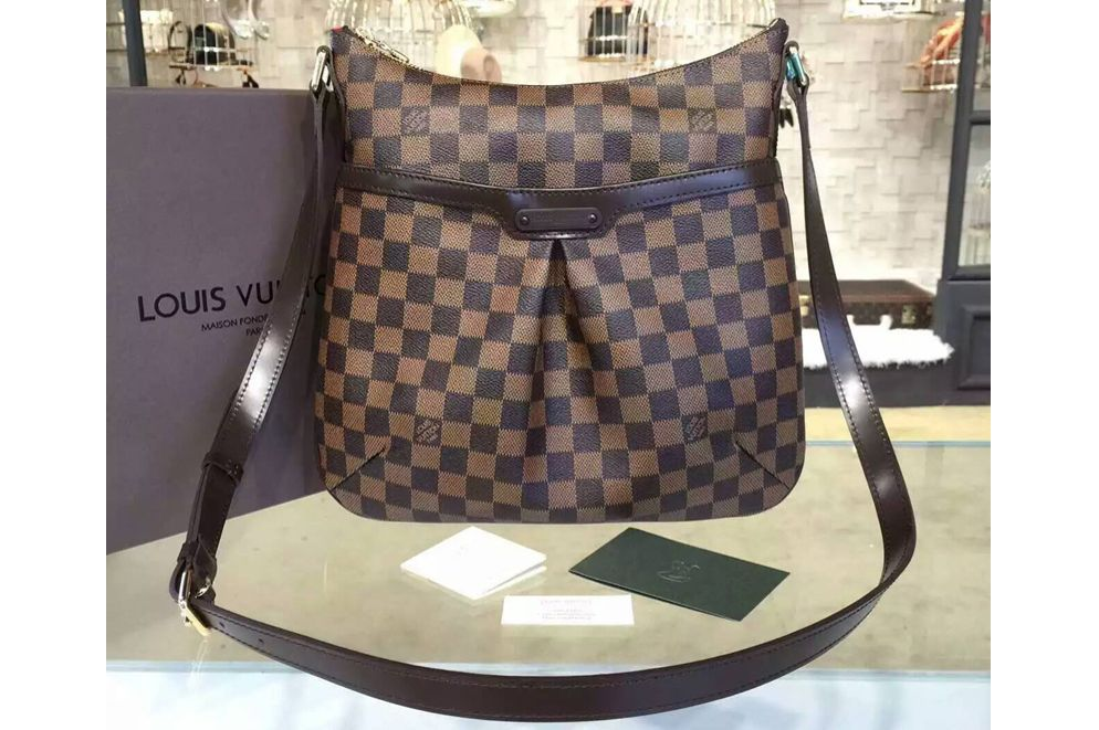 Louis Vuitton Damier Ebene Bloomsbury Pm Crossbody Handbag TbCsyj