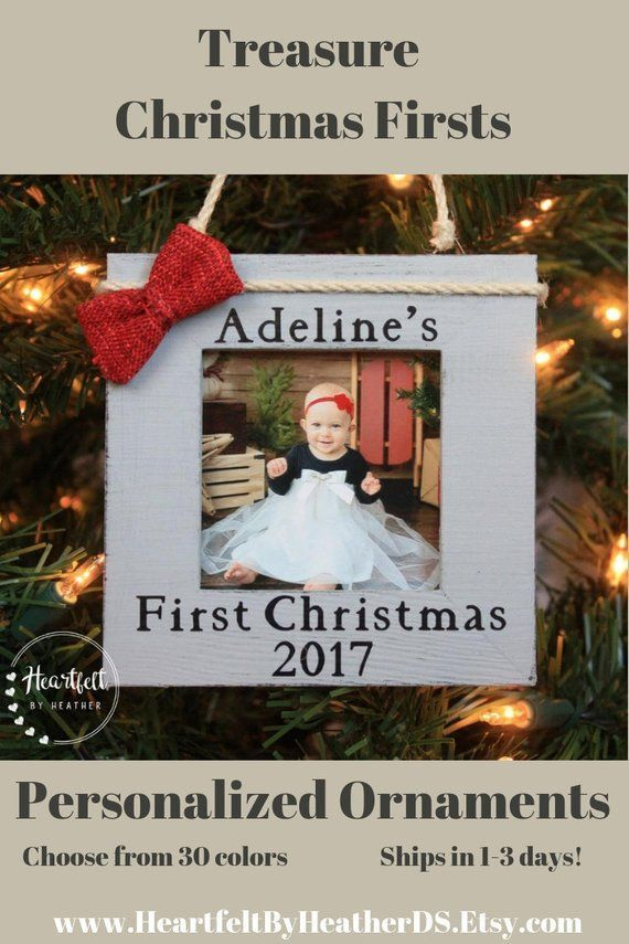 Baby\u0027s First Christmas Ornament Personalized Christmas Ornament Baby