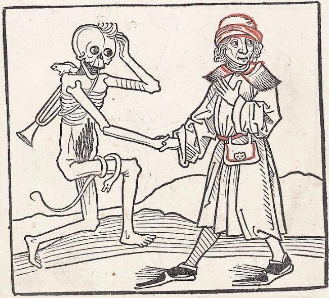 Heidelberger Totentanz Heidelberg: Heinrich Knoblochtzer, nicht nach 1488 GW M47257  Folio 20v