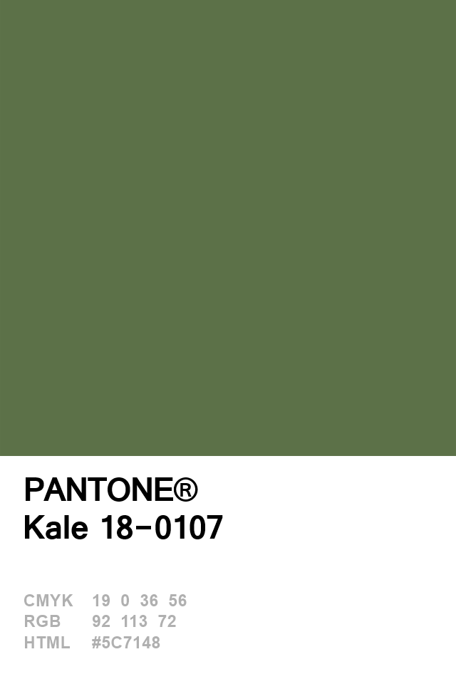 Pantone 2017 Kale Colors Pinterest Pantone Kale