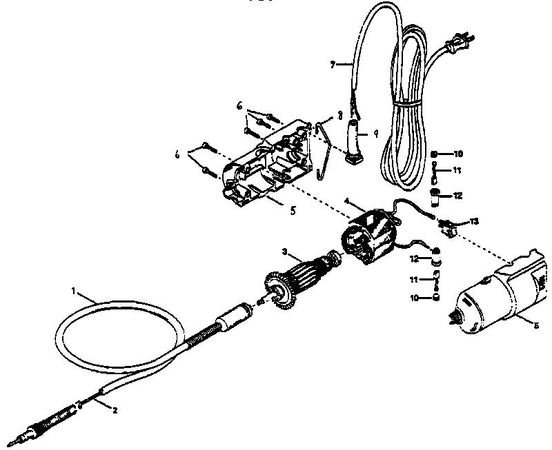 flex shaft schematic flexible_shaft dremel, rotary tool, dremelDremel Motor Diagram Motor Repalcement Parts And Diagram #20