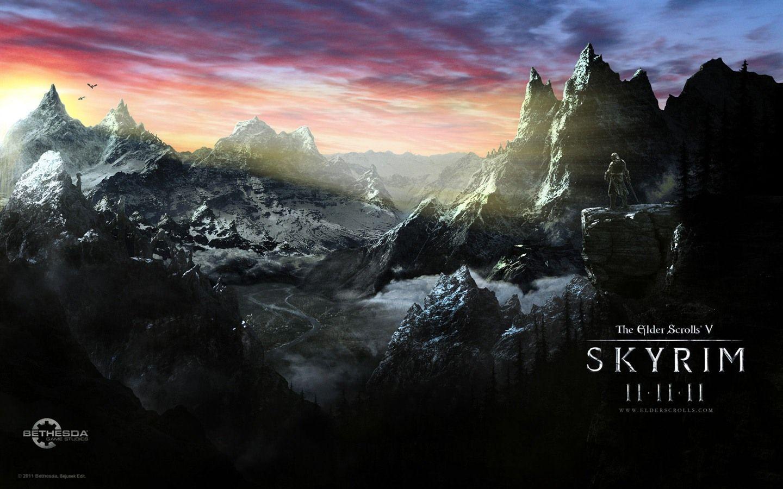 7 Wonderful Skyrim Wallpaper Full Hd For Your PC Desktop