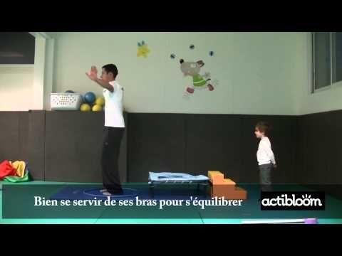 Exercices de sauts pour enfants de 3 à 5 ans, maternelle ...