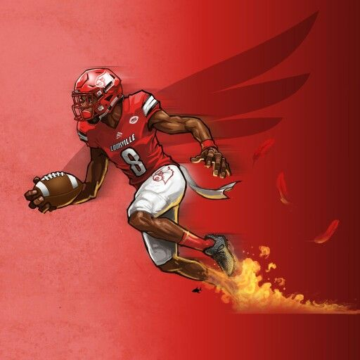 Lamar Action Jackson Louisville Cardinals Football Louisville Cardinals Basketball Louisville Football